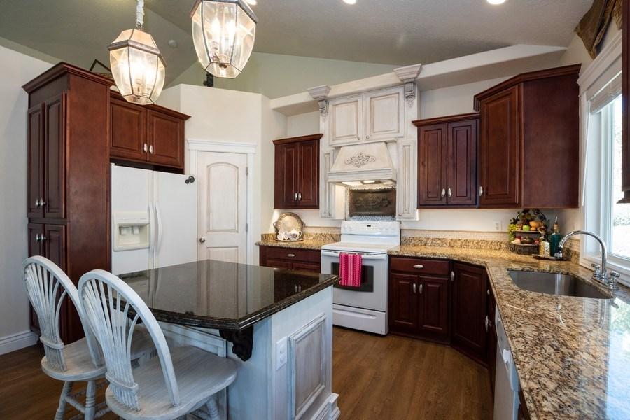 Real Estate Photography - 14956 S Cedar Falls Dr, Herriman, UT, 84096 - Kitchen