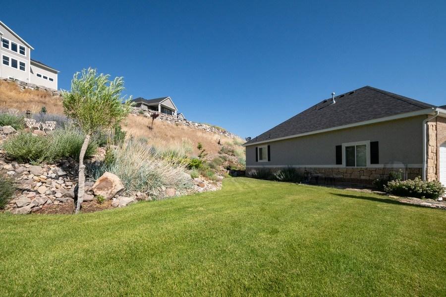Real Estate Photography - 14956 S Cedar Falls Dr, Herriman, UT, 84096 - Side Yard
