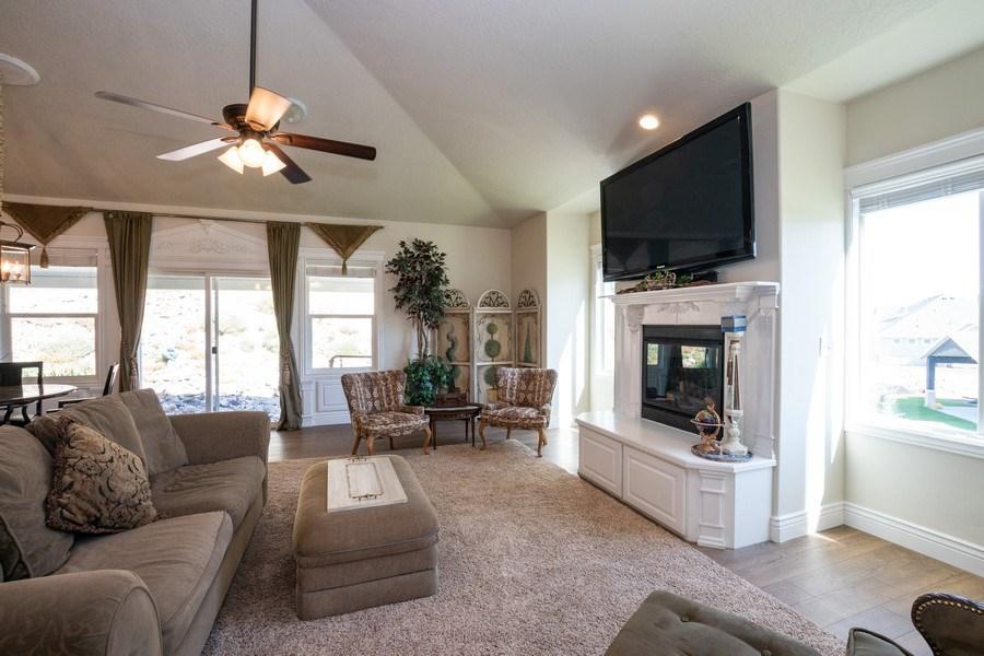 Real Estate Photography - 14956 S Cedar Falls Dr, Herriman, UT, 84096 - Family Room