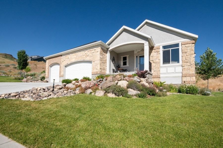 Real Estate Photography - 14956 S Cedar Falls Dr, Herriman, UT, 84096 - Front View