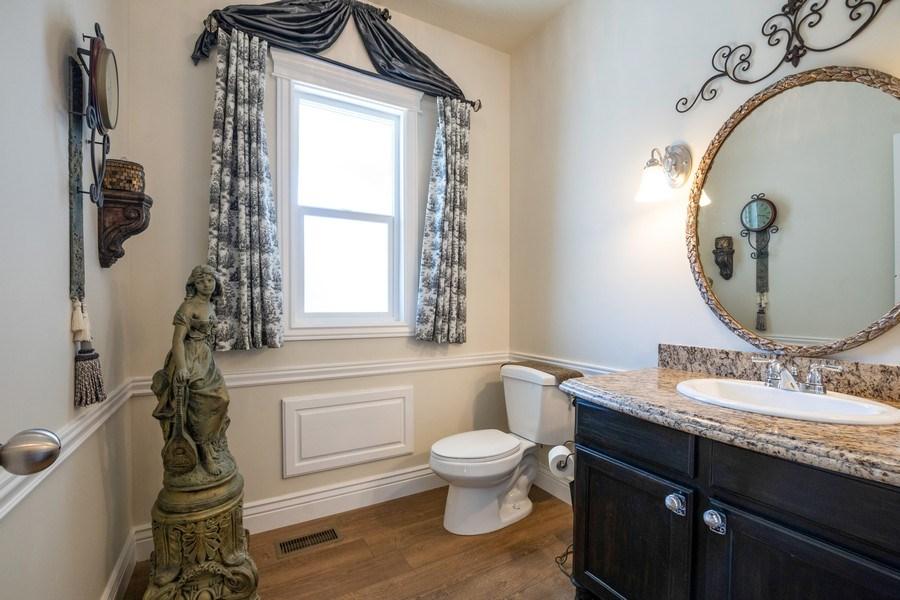 Real Estate Photography - 14956 S Cedar Falls Dr, Herriman, UT, 84096 - Half Bath