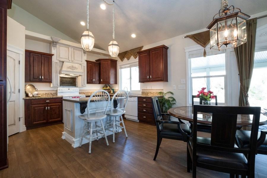 Real Estate Photography - 14956 S Cedar Falls Dr, Herriman, UT, 84096 - Kitchen / Dining Room