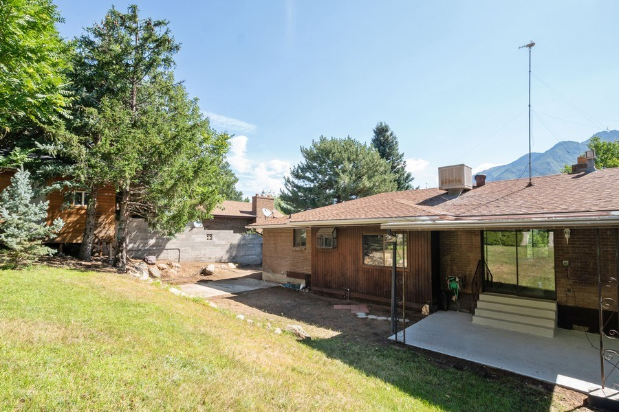 Real Estate Photography - 11778 S 1700 E, Sandy, UT, 84092 - Rear View