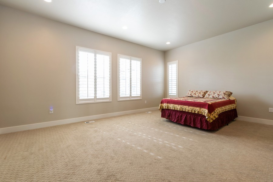 Real Estate Photography - 7392 S 5765 W, West Jordan, UT, 84081 - Master Bedroom