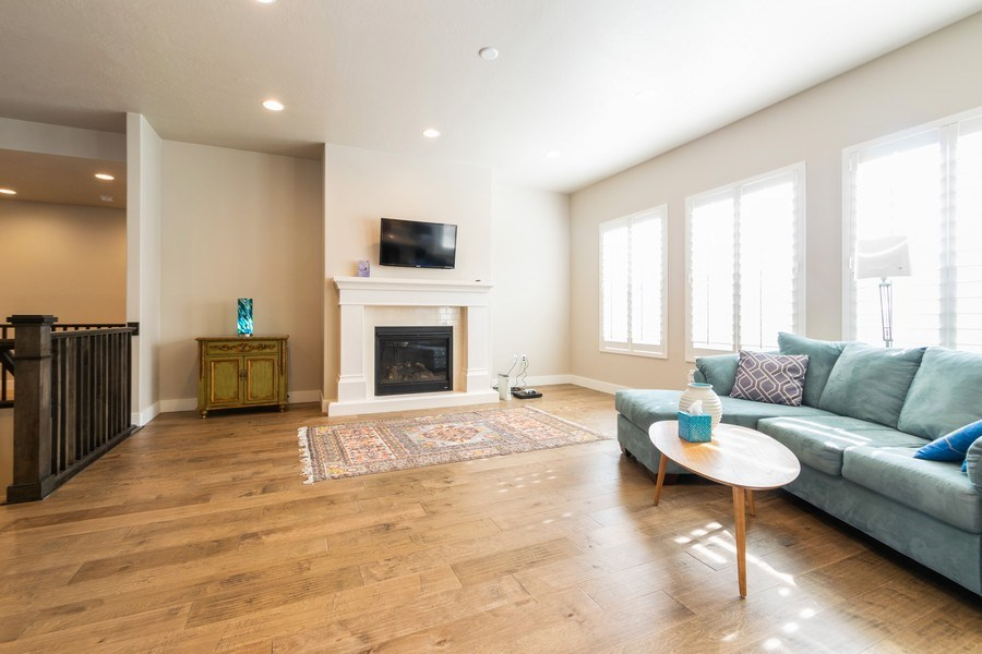 Real Estate Photography - 7392 S 5765 W, West Jordan, UT, 84081 - Living Room