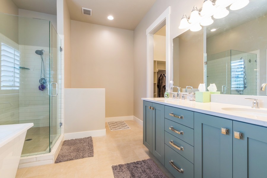 Real Estate Photography - 7392 S 5765 W, West Jordan, UT, 84081 - Master Bathroom