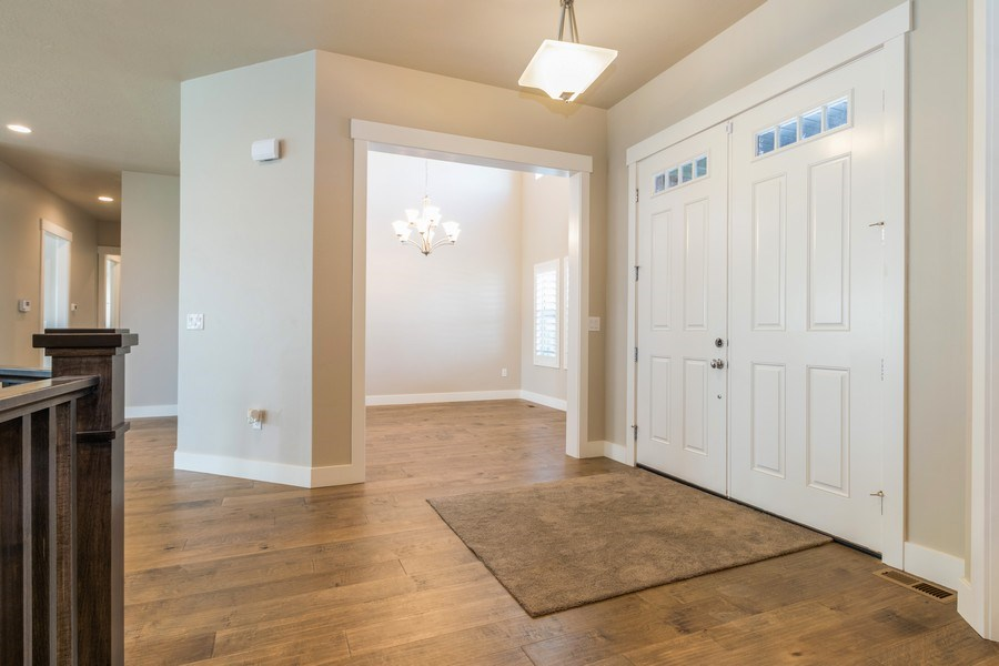Real Estate Photography - 7392 S 5765 W, West Jordan, UT, 84081 - Foyer