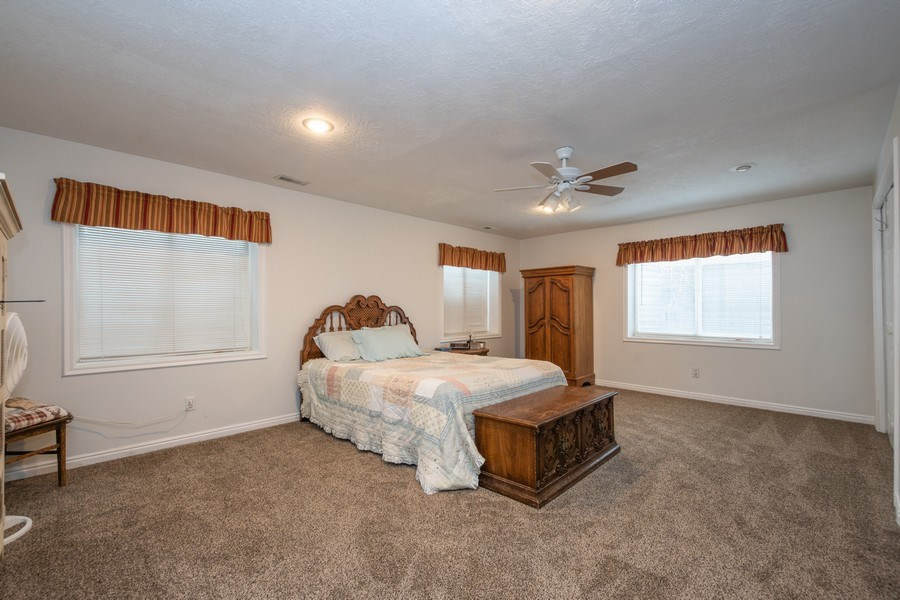 Real Estate Photography - 13032 S 1300 W, Riverton, UT, 84065 - Guest Bedroom