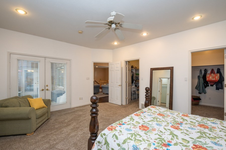 Real Estate Photography - 13032 S 1300 W, Riverton, UT, 84065 - Master Bedroom
