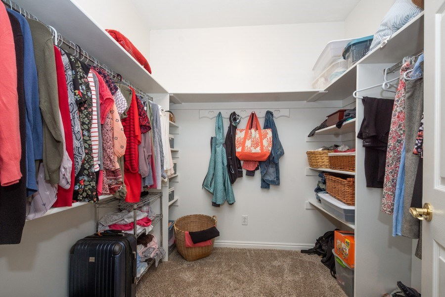 Real Estate Photography - 13032 S 1300 W, Riverton, UT, 84065 - Master Bedroom Closet