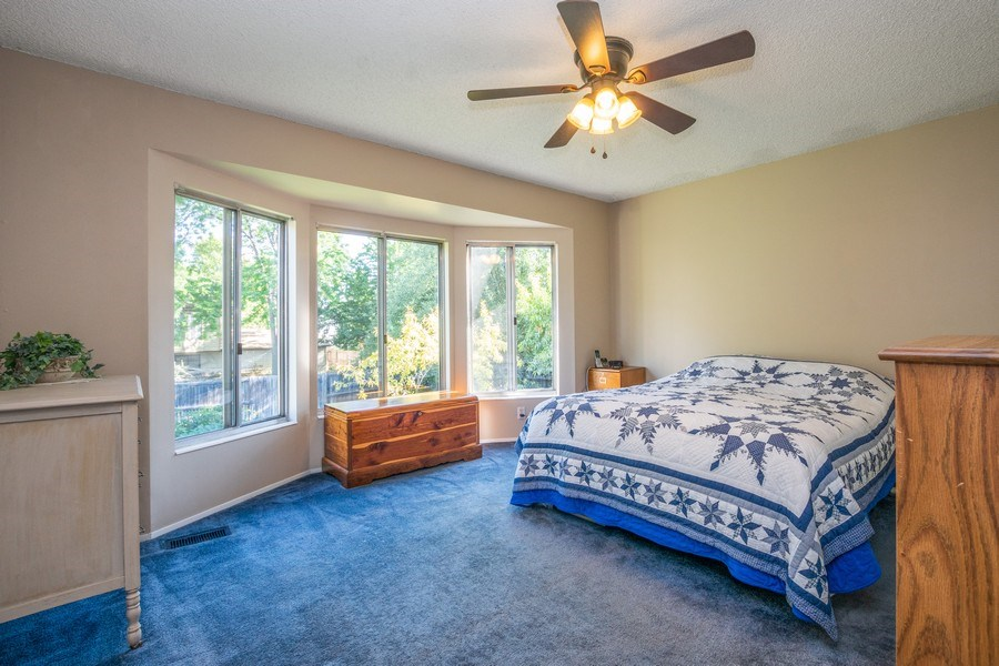 Real Estate Photography - 3250 w. 6735 S., West Jordan, UT, 84084 - Master Bedroom
