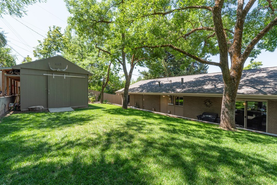 Real Estate Photography - 4669 S Wallace Lane, Holladay, UT, 84117 - Back Yard