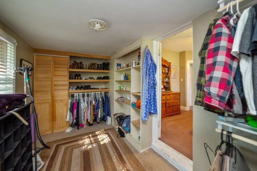 Real Estate Photography - 111 W. 3100 South, Bountiful, UT, 84010 - Master Bedroom Closet