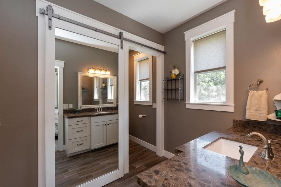 Real Estate Photography - 1641 Clyde Lake, Lot 350, Heber City, UT, 84032 - Master Bathroom