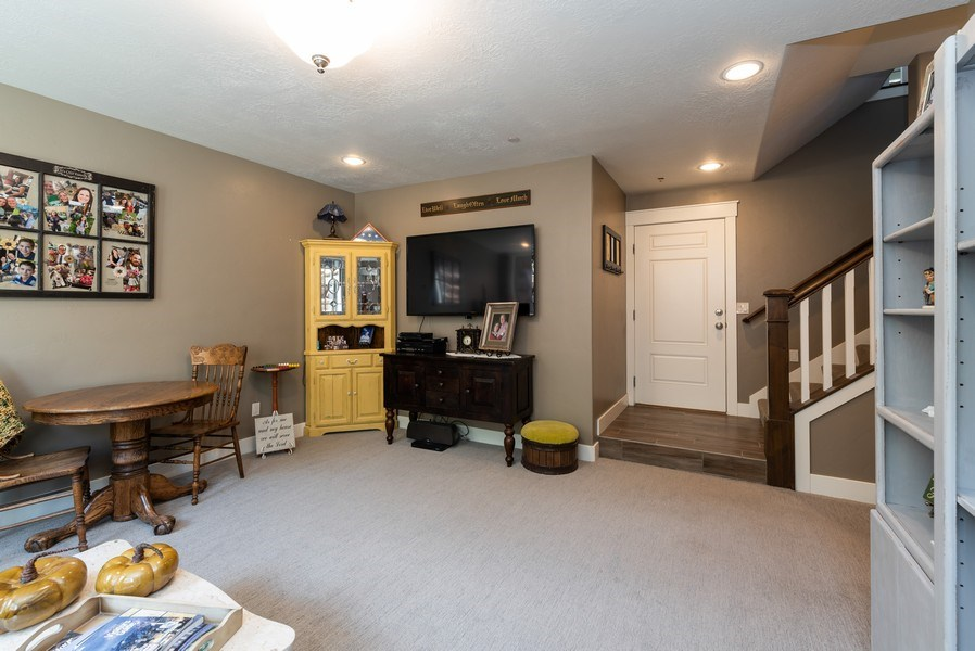 Real Estate Photography - 1641 Clyde Lake, Lot 350, Heber City, UT, 84032 - Family Room