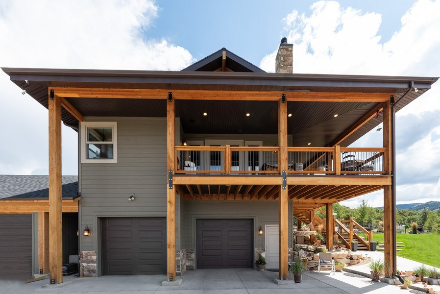 Real Estate Photography - 1641 Clyde Lake, Lot 350, Heber City, UT, 84032 - Garage