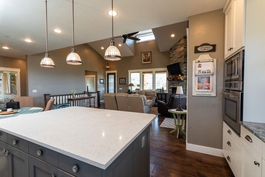 Real Estate Photography - 1641 Clyde Lake, Lot 350, Heber City, UT, 84032 - Kitchen