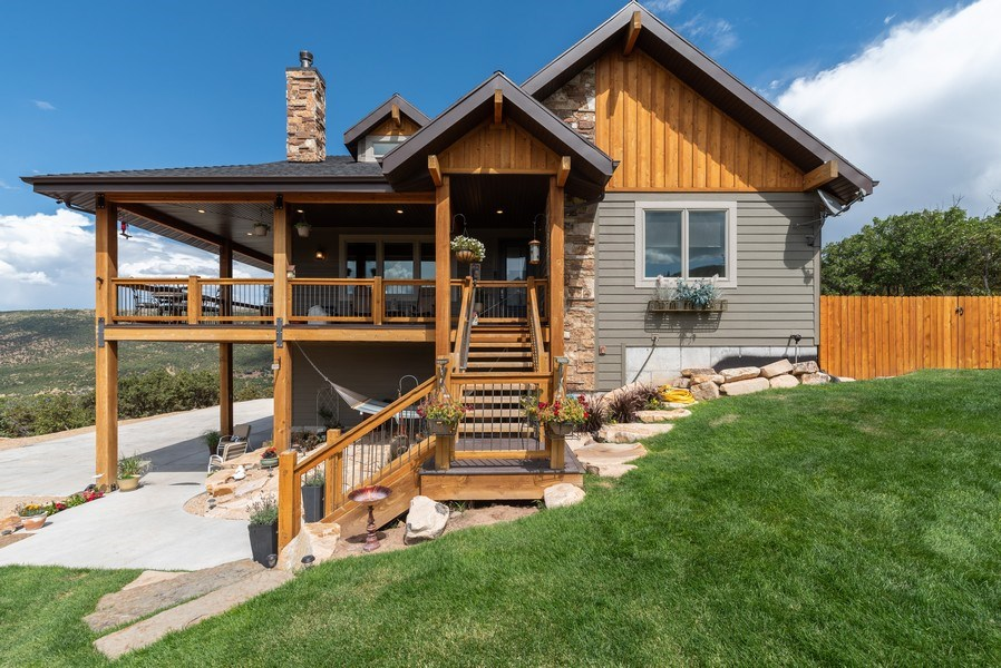 Real Estate Photography - 1641 Clyde Lake, Lot 350, Heber City, UT, 84032 - Front View