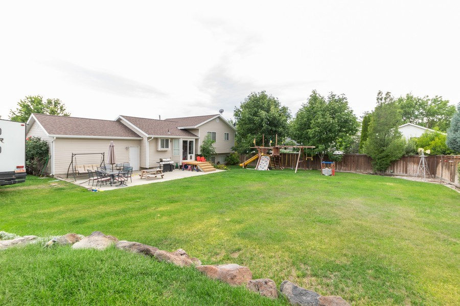 Real Estate Photography - 856 W 2400 N, Lehi, UT, 84043 - Rear View
