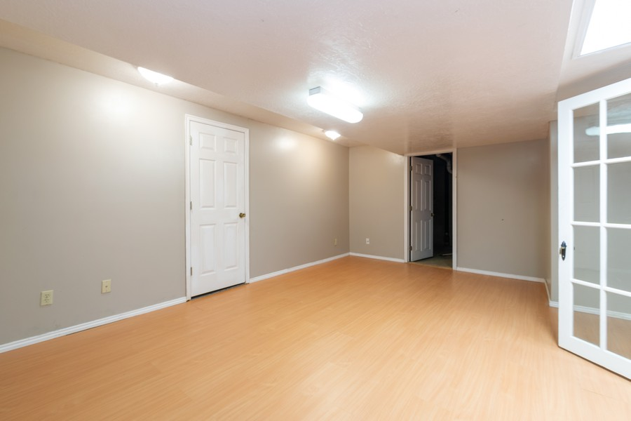 Real Estate Photography - 7661 Brighton Way, Cottonwood Heights, UT, 84121 - Basement