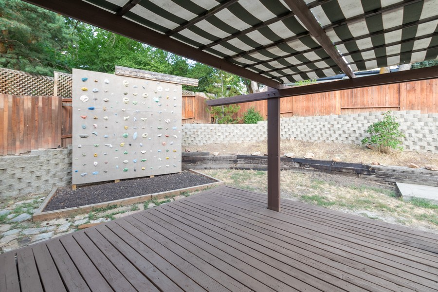 Real Estate Photography - 7661 Brighton Way, Cottonwood Heights, UT, 84121 - Patio