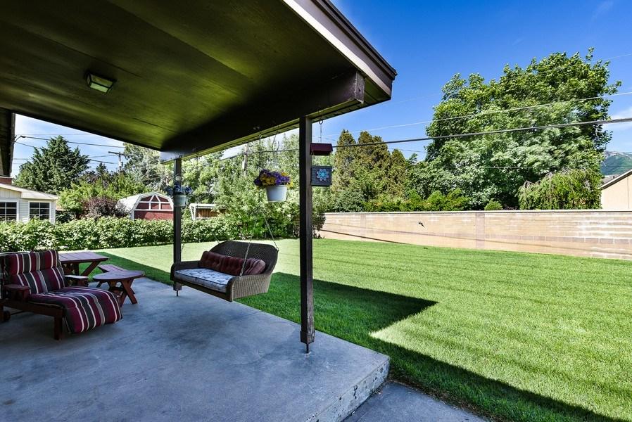 Real Estate Photography - 4910 Adams Ave, Ogden, UT, 84403 - Back Yard