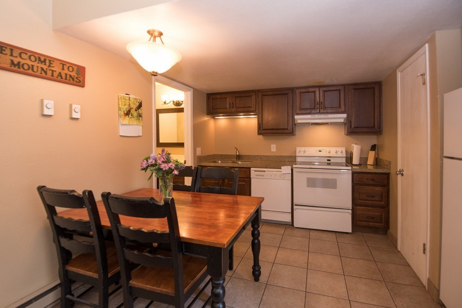 Real Estate Photography - 2025 Canyons Resrot Dr, F-7, Park City, UT, 84098 - Kitchen