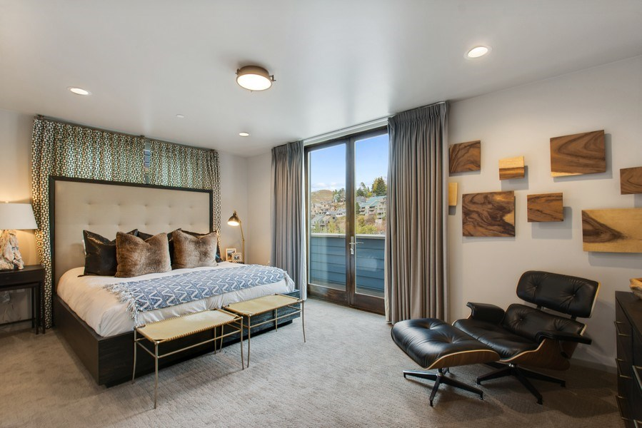 Real Estate Photography - 205 Main St, Park City, UT, 84060 - Master Bedroom