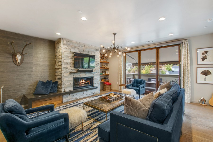 Real Estate Photography - 205 Main St, Park City, UT, 84060 - Family Room