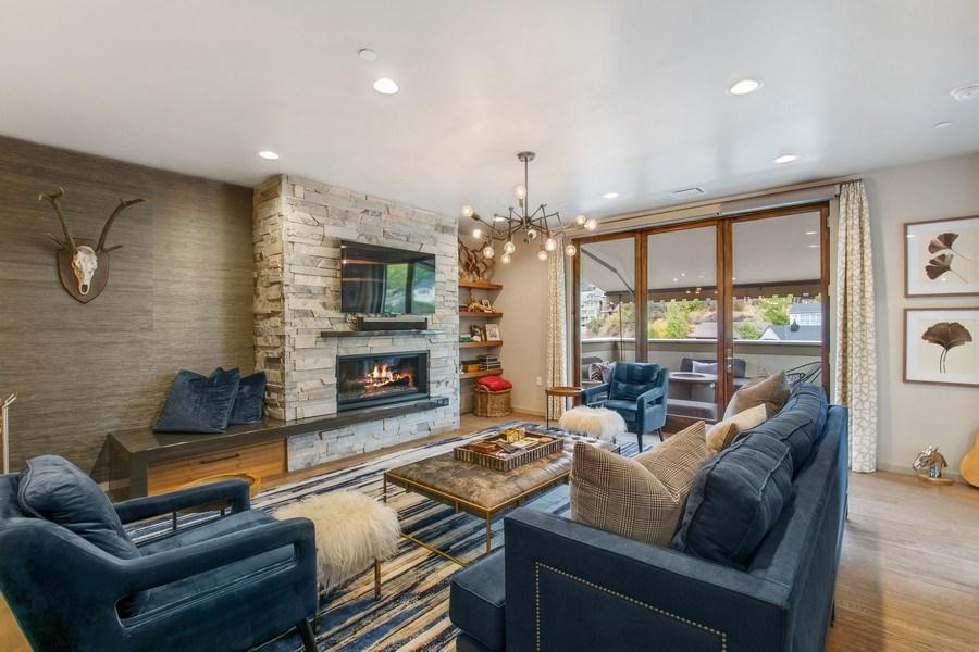 Real Estate Photography - 205 Main St, Park City, UT, 84060 - Family Room