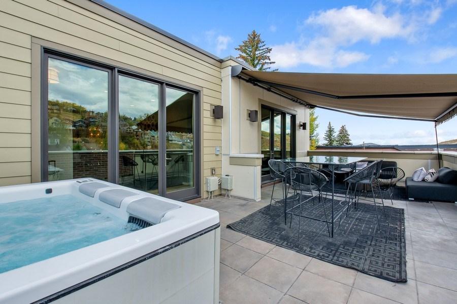 Real Estate Photography - 205 Main St, Park City, UT, 84060 - Balcony