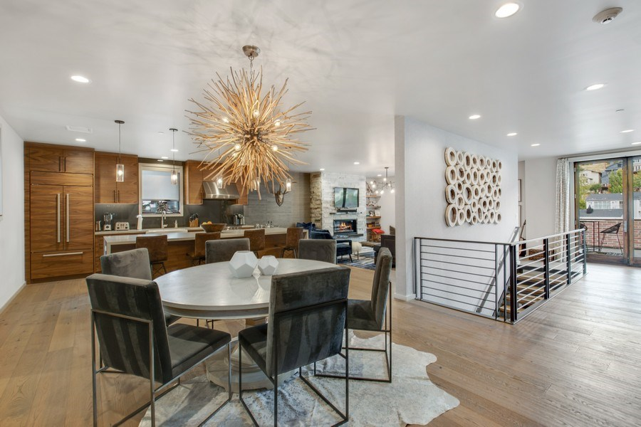 Real Estate Photography - 205 Main St, Park City, UT, 84060 - Family Room / Dining Room