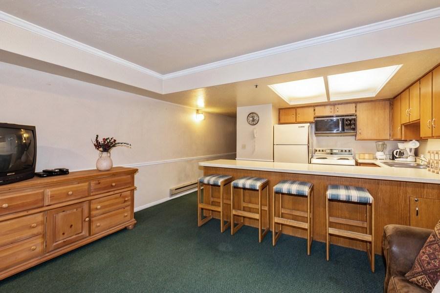 Real Estate Photography - 1487 Woodside Ave Unit B105, Park City, UT, 84060 - Living Room