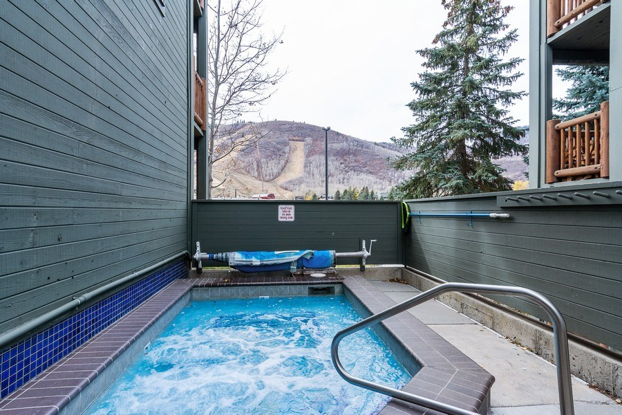 Real Estate Photography - 1487 Woodside Ave Unit B105, Park City, UT, 84060 - Pool