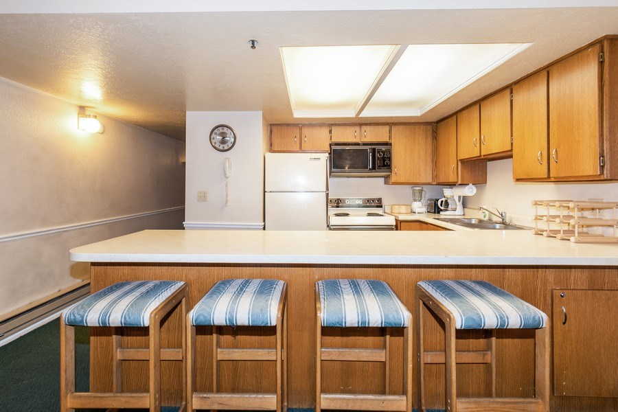 Real Estate Photography - 1487 Woodside Ave Unit B105, Park City, UT, 84060 - Kitchen