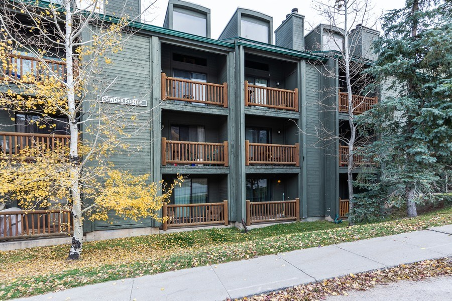 Real Estate Photography - 1487 Woodside Ave Unit B105, Park City, UT, 84060 - Front View