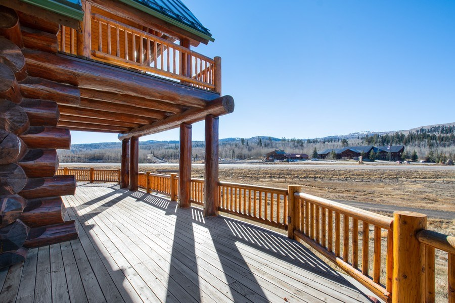 Real Estate Photography - 17015 S Summit Dr, Heber City, UT, 84032 - Deck