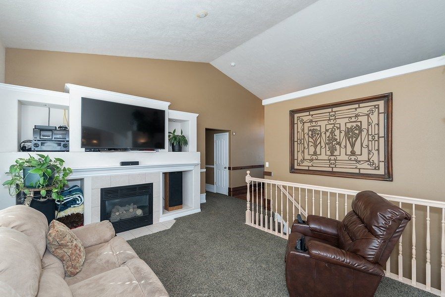 Real Estate Photography - 4639 West Baldy Drive, West Jordan, UT, 84088 - Living Room