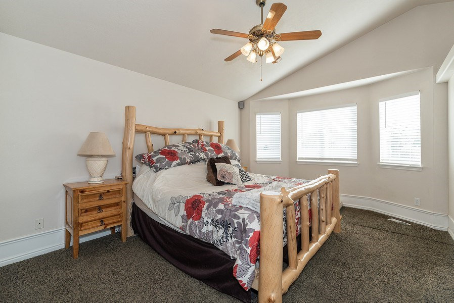 Real Estate Photography - 4639 West Baldy Drive, West Jordan, UT, 84088 - Bedroom