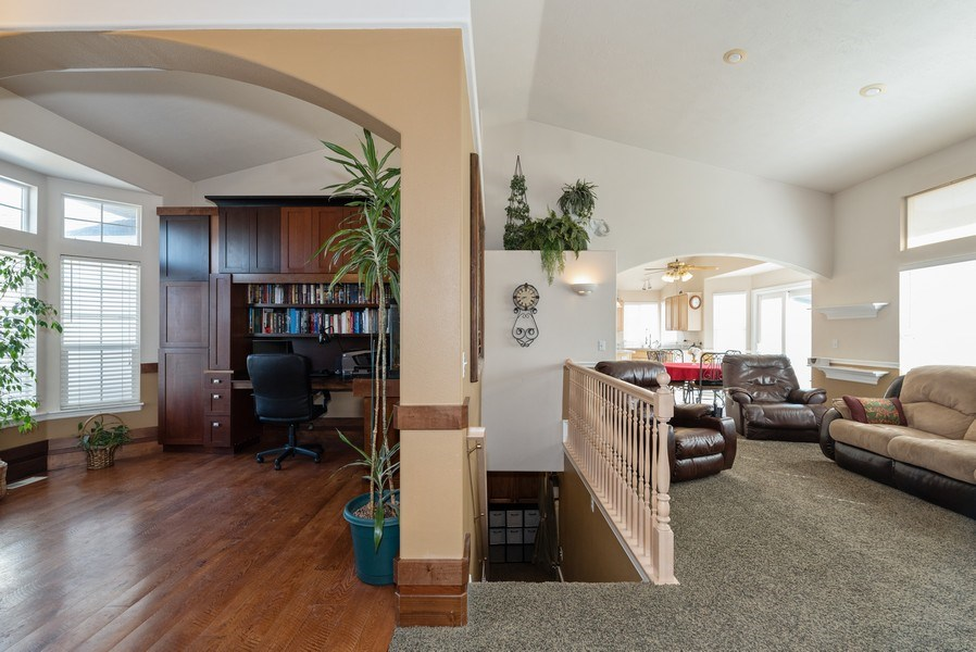 Real Estate Photography - 4639 West Baldy Drive, West Jordan, UT, 84088 - Basement