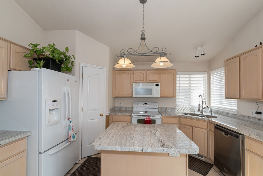 Real Estate Photography - 4639 West Baldy Drive, West Jordan, UT, 84088 - Kitchen