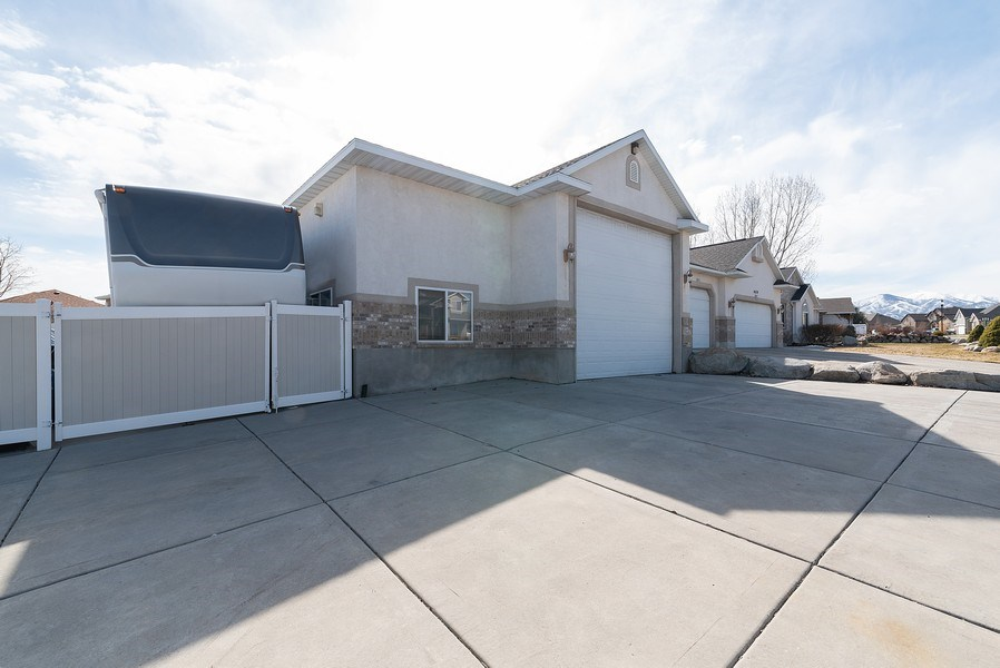 Real Estate Photography - 4639 West Baldy Drive, West Jordan, UT, 84088 - Front View