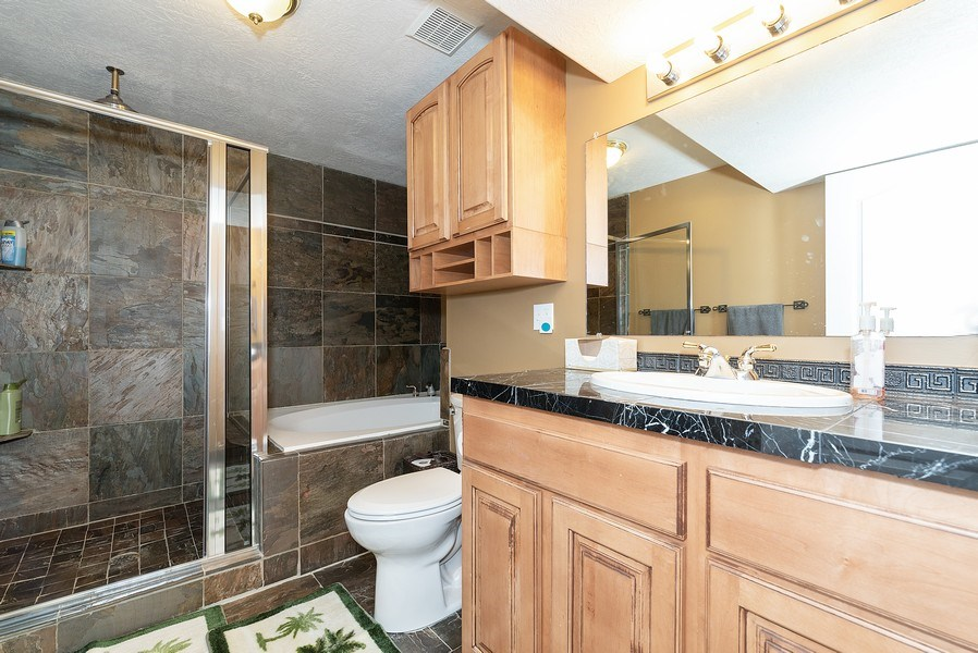 Real Estate Photography - 4639 West Baldy Drive, West Jordan, UT, 84088 - Bathroom