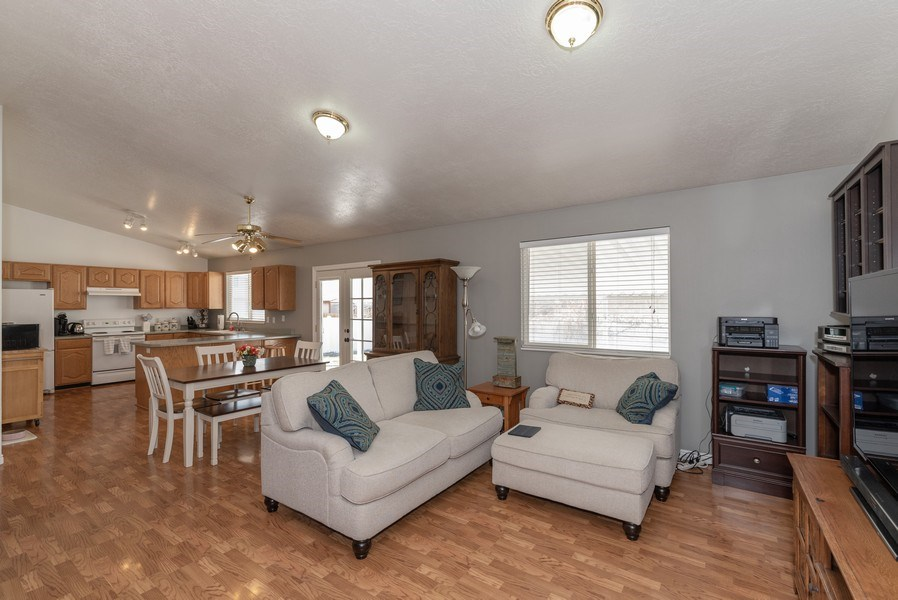 Real Estate Photography - 2894 Woodbrook Lane, Magna, UT, 84044 - Family Room