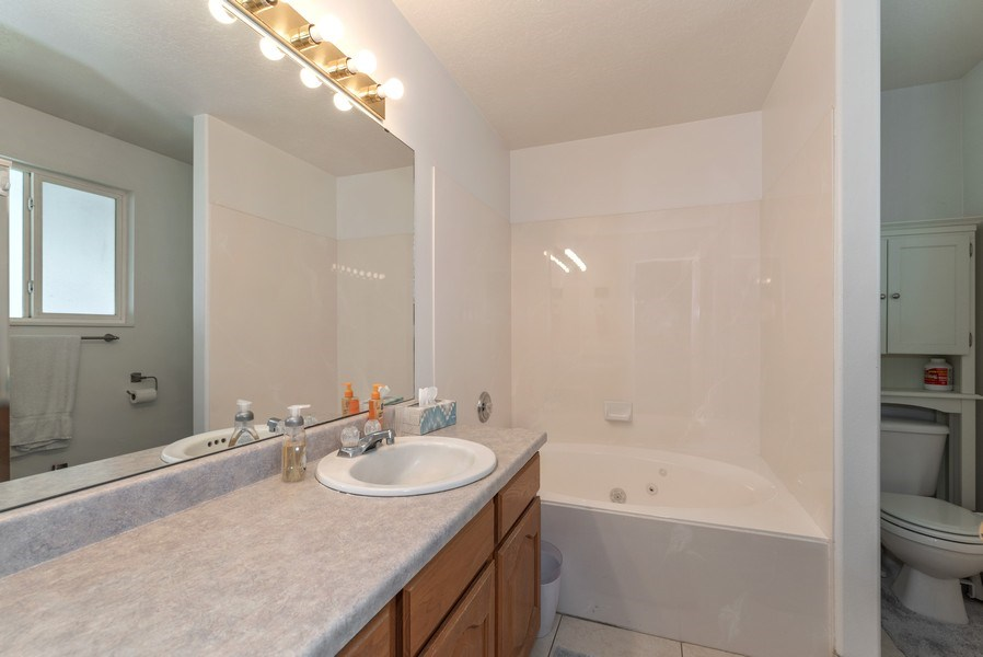 Real Estate Photography - 2894 Woodbrook Lane, Magna, UT, 84044 - Bathroom