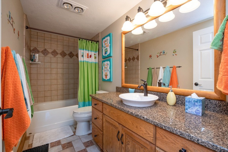 Real Estate Photography - 12979 S. Cindy Lane, Draper, UT, 84020 - 4th Bathroom