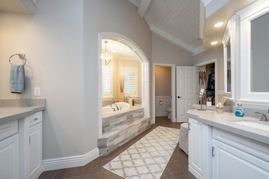 Real Estate Photography - 12979 S. Cindy Lane, Draper, UT, 84020 - Master Bathroom