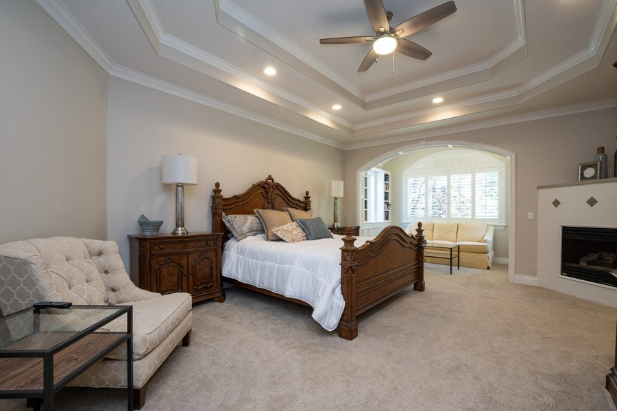 Real Estate Photography - 12979 S. Cindy Lane, Draper, UT, 84020 - Master Bedroom