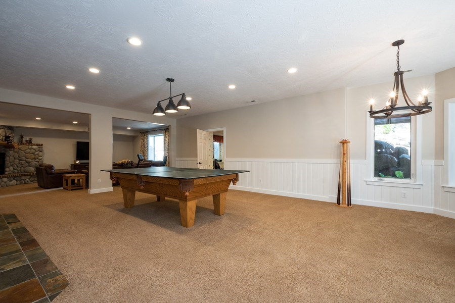 Real Estate Photography - 12979 S. Cindy Lane, Draper, UT, 84020 - Recreational Room