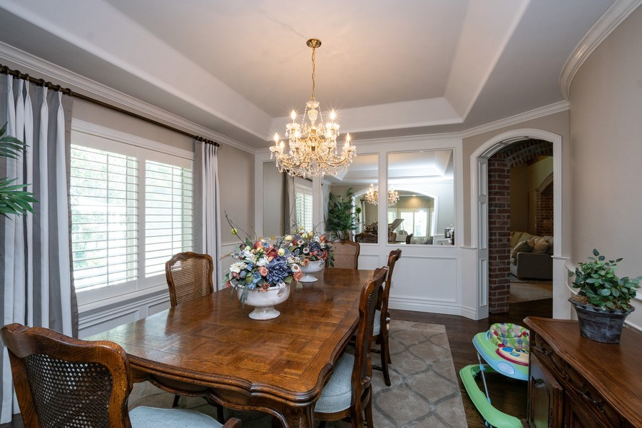 Real Estate Photography - 12979 S. Cindy Lane, Draper, UT, 84020 - Dining Room